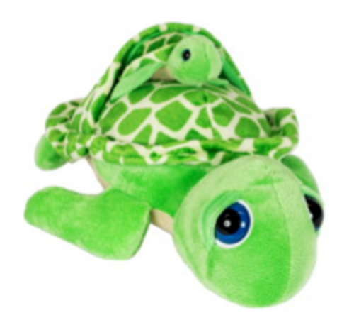 "Green Turtle Pint-Sized Pals (12"")"