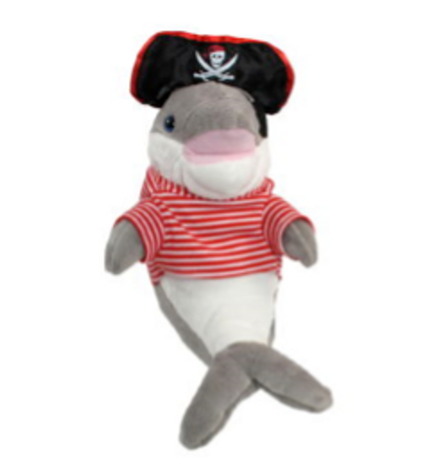 """Pirate Dolphin (12"""")"""