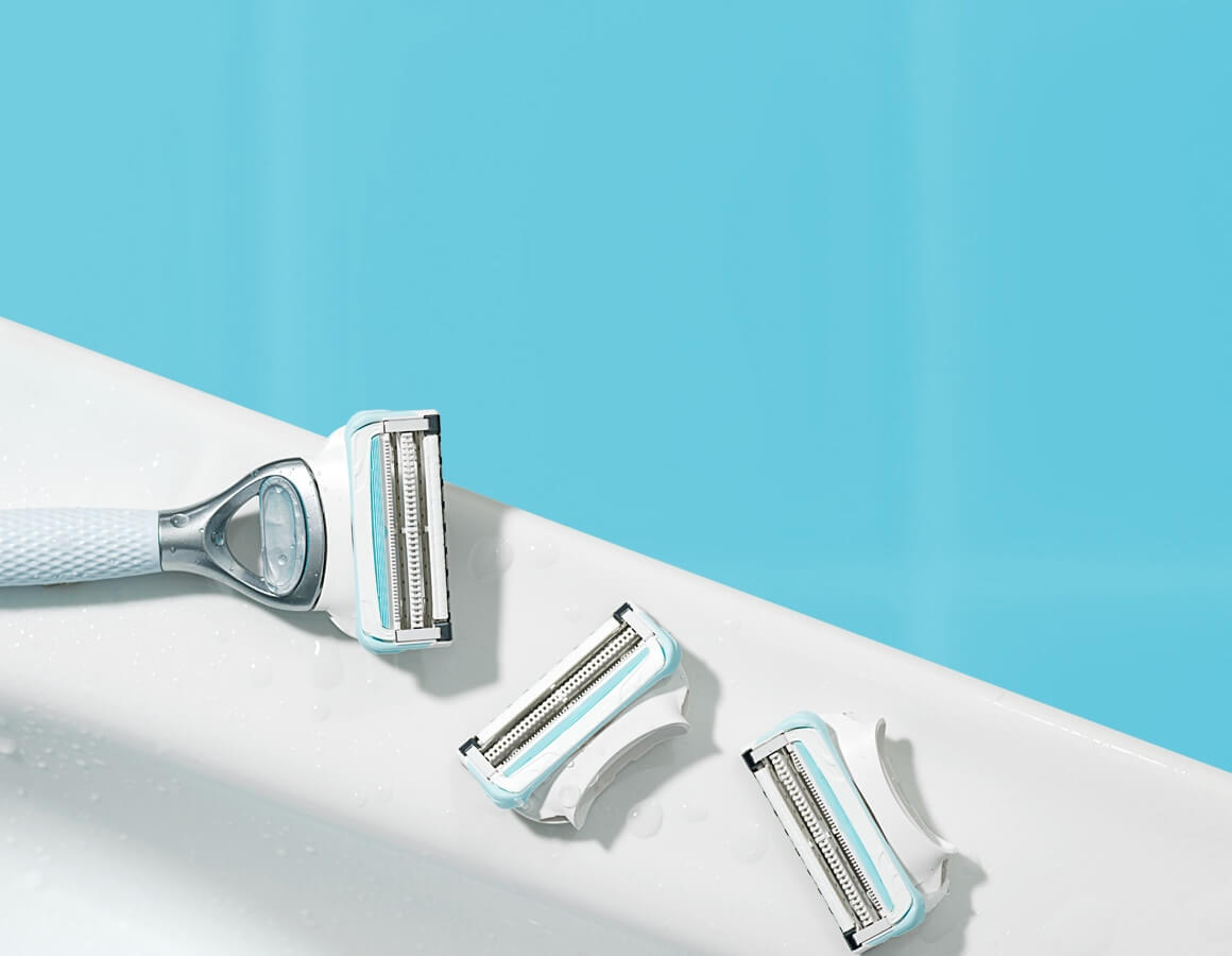 Pubic Hair and Skin Razor is specifically designed to protect your skin from shave irritation