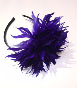 Florence Feather Fascinator
