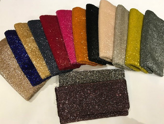 Fold Over Party Clutch Bag - Variety Colors