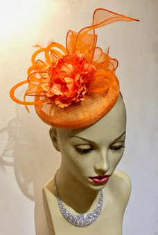 Aisha Fascinator/hat/cocktail hat