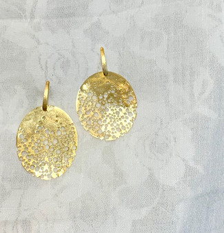 Another One Bites the Gold Earrings