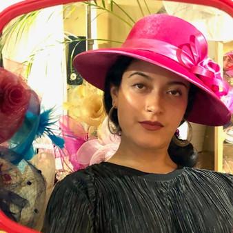 Aba Velvet Hat