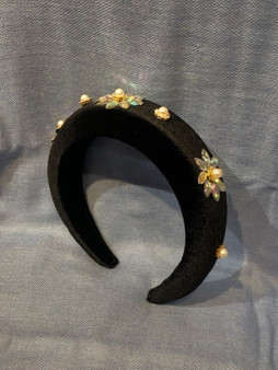 Crystal Flowers Headband