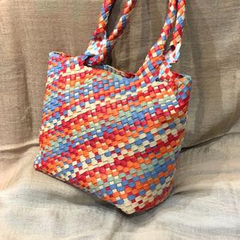 Behold the Rainbow Leather Handbag