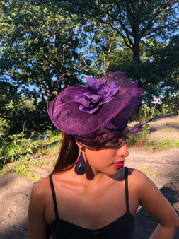 Adelaide Fascinator (Multiple colors)