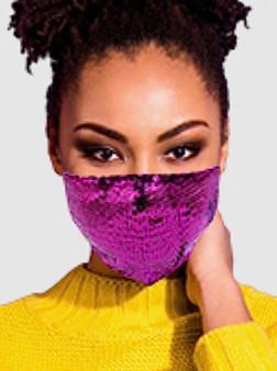 Sequins Mask (Multiple Colors)