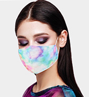 Tie Dye Mask (Multiple Colors)