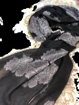 Black Rose Scarf