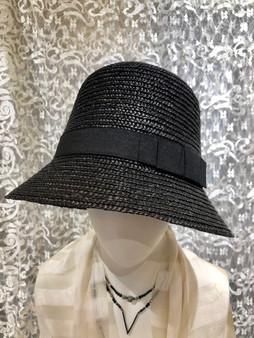 Black Tall Summer Hat