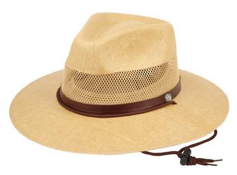 Woven Paper Straw Panama Hat