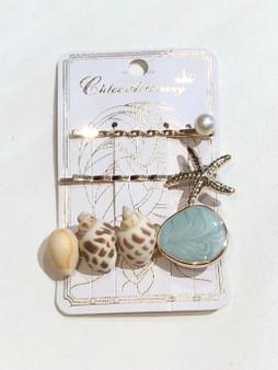 Seashore Bobby Pin Set