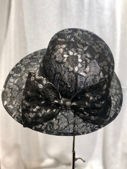 Structured Lace Hat