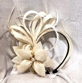 Royal Lily Headband/Fascinator