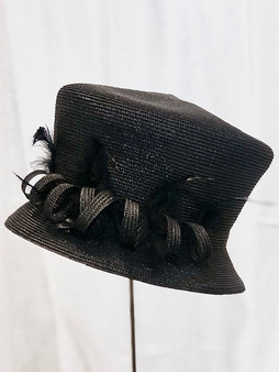 Feather Top Hat
