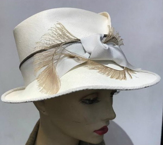 Alexandria Hand Pleated Fedora
