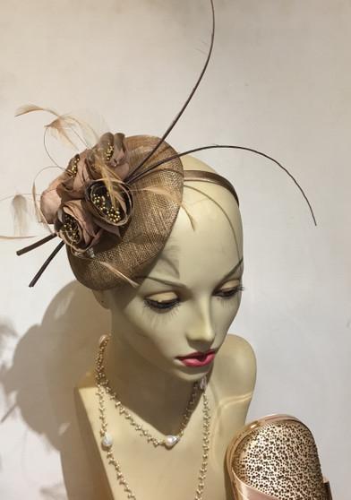 Arnie Fascinator/Cocktail Hat/Hat