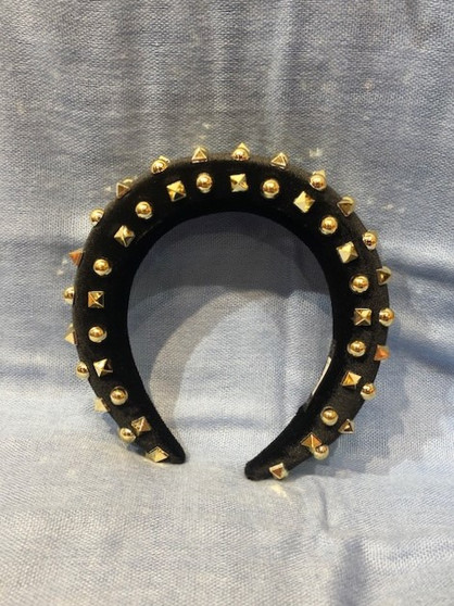 Gold-Studded Headband