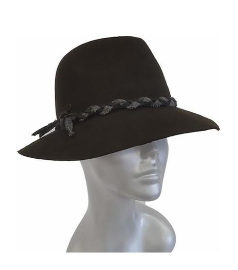 Unisex 'Twine' Fedora Hat
