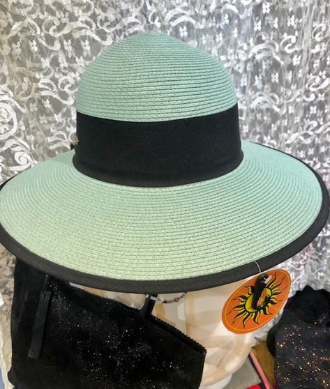 Ocean Blue Summer Hat
