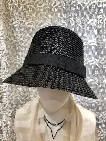 Black Tall Summer Hat