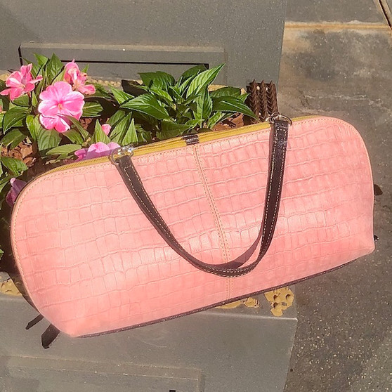 Vintage Inspired Denim Bag