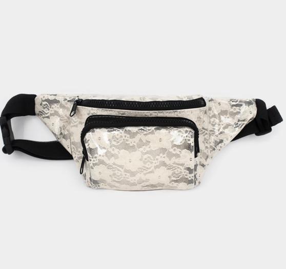 Lace Belt Bag