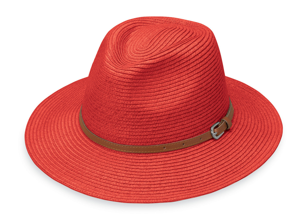 553d917f451a6 Womens Wallaroo Naples UPF50 sun hat orange