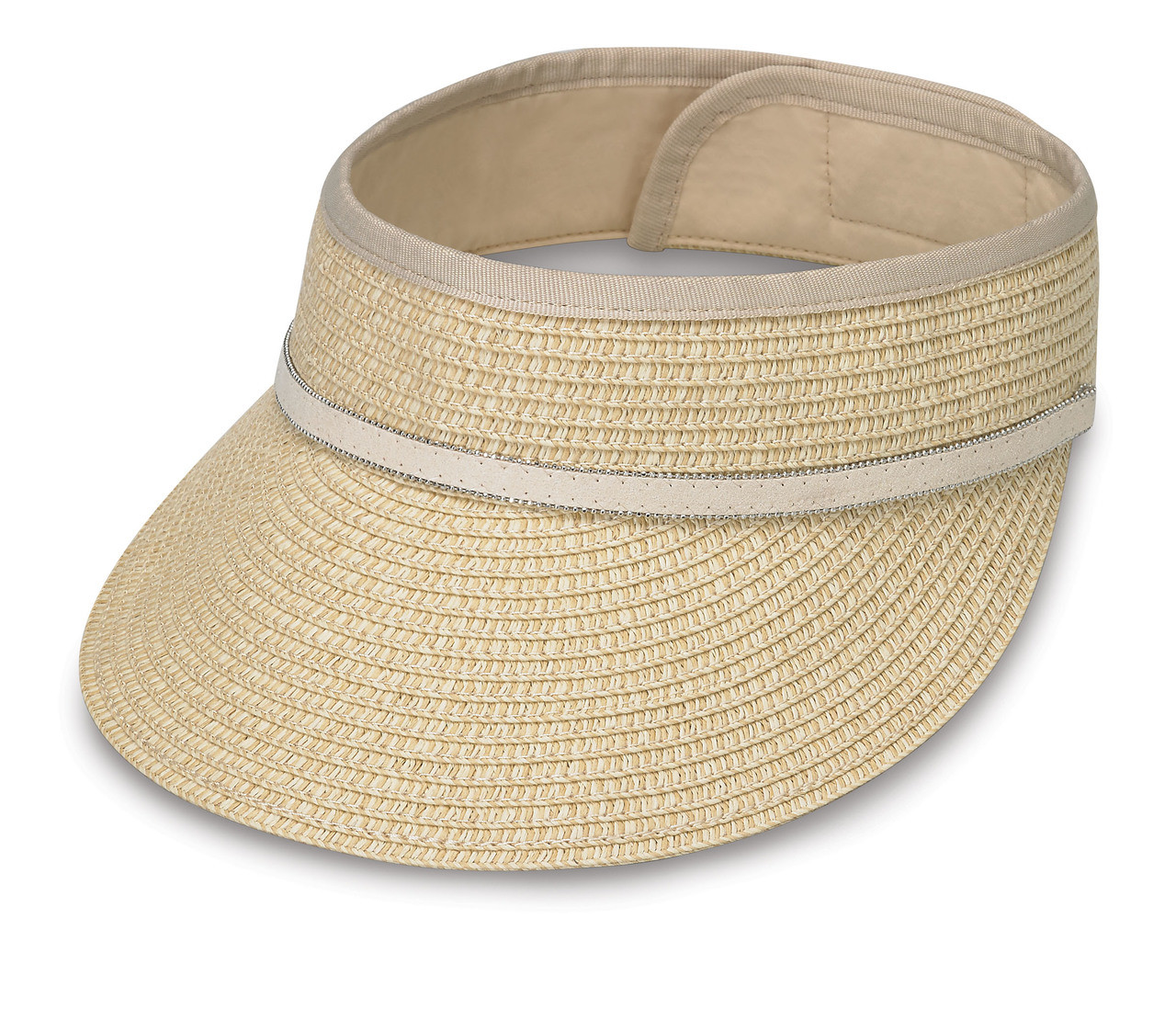 Wallaroo hats bianca visor cap natural 8c313c92522