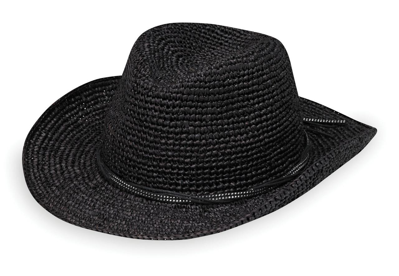 b8ff703aa1a Womens Wallaroo Hat company hannah black