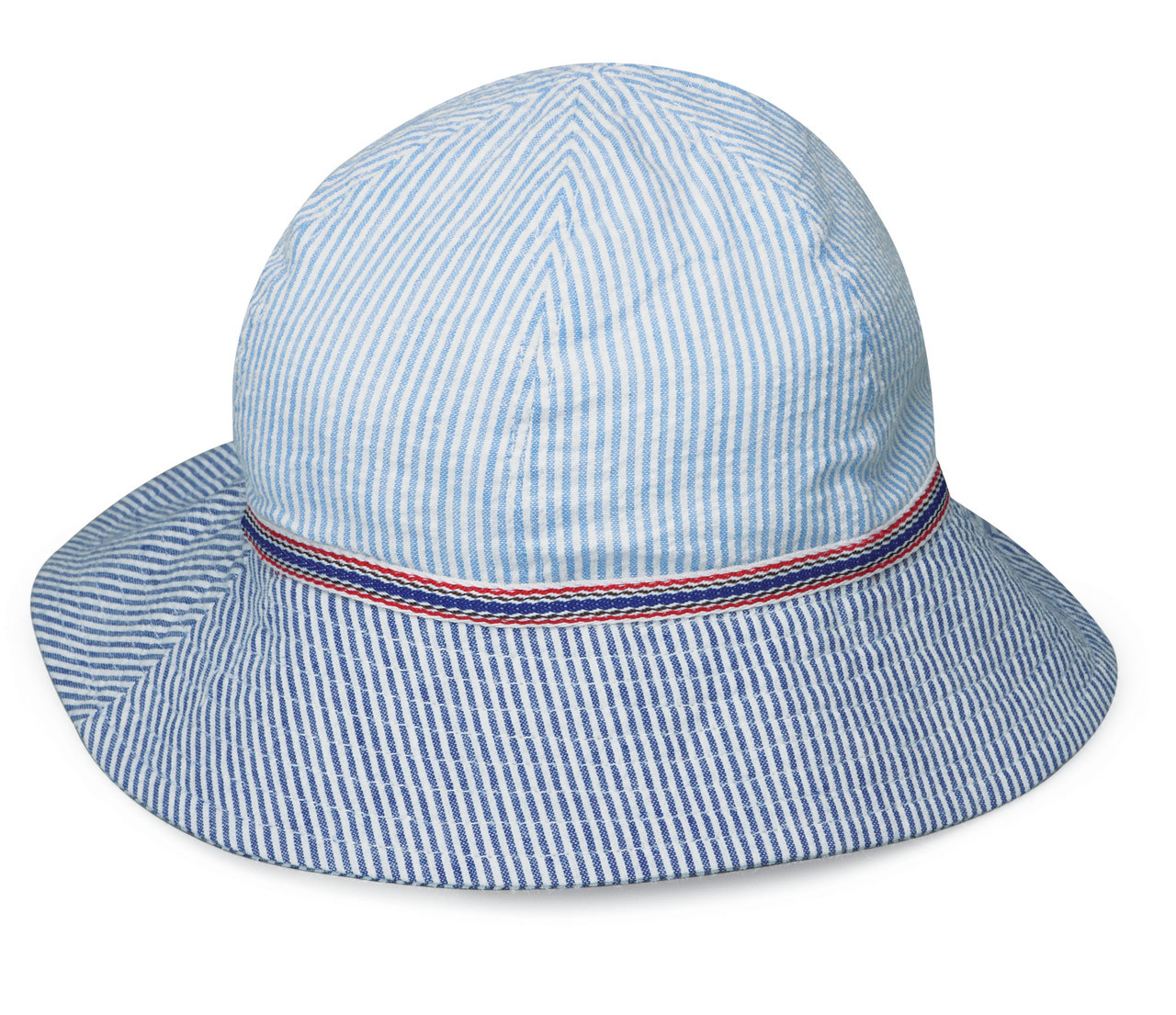 51e8847b213 Wallaroo Baby UV UPF50 platypus sun hat seersucker