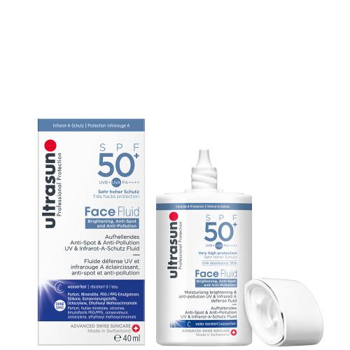 Ultrasun anti pollution spf50+ face fluid 40ml
