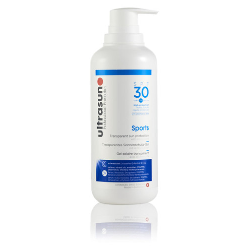 Ultrasun Clear sports spf30 liquid gel 400ml