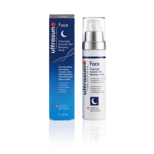 Ultrasun overnight summer sun skin recovery mask