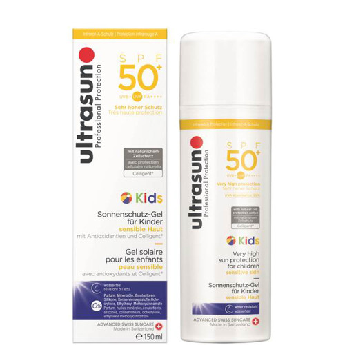 Ultrasun SPF50+ sensitive kids formula sunscreen 150ml