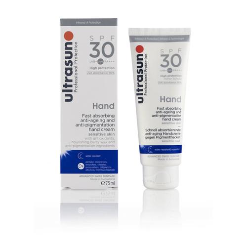 Ultrasun SPF30 anti-pigmentation hand sun protection sunscreen
