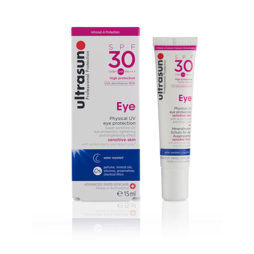 Ultrasun SPF30 mineral eye protection