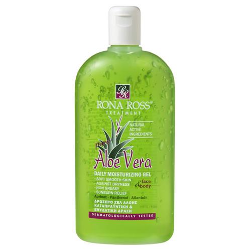Rona Ross Aloe Vera daily moisturising gel aftersun 400ml