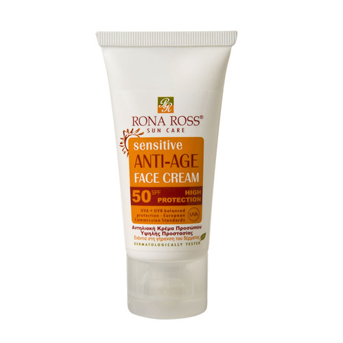 Rona Ross anti-ageing anti-pigmentation face spf50 sun protection