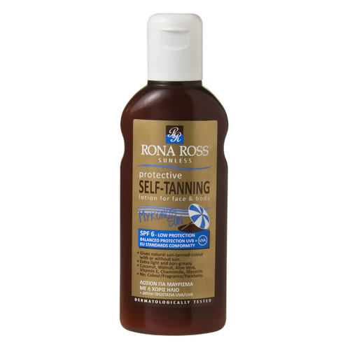 Rona Ross protective self-tanning lotion self tan 160ml