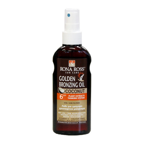 Rona Ross Golden Bronzing coconut Dry Oil Coconut SPF6