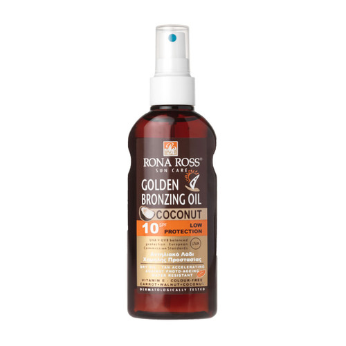 Rona Ross Golden Bronzing coconut Dry Oil Coconut SPF10
