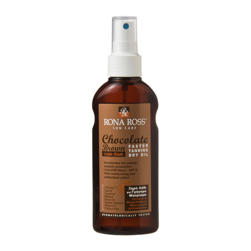 Rona Ross Chocolate Tanning Accelerator Oil SPF2 (160ml)