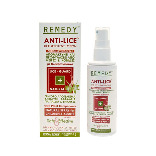 Rona Ross Remedy Anti-Lice Repellent Lotion