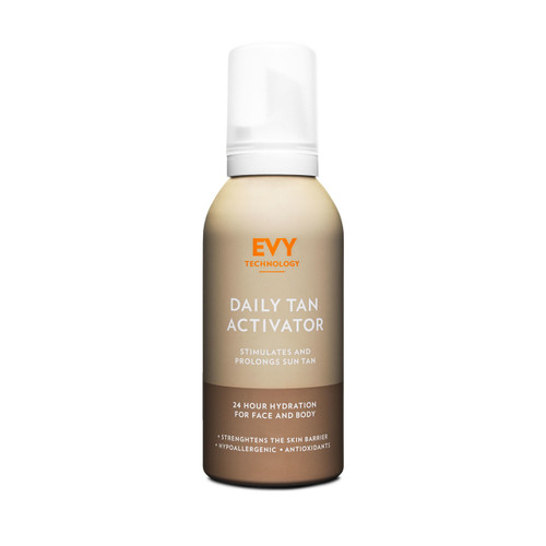 Evy technology daily tan activator and aftersun mousse