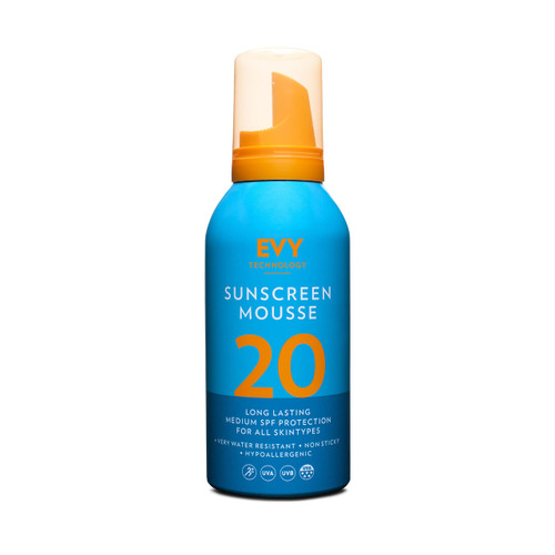 Evy Technology Proderm Sunscreen Mousse SPF20 (150ml)