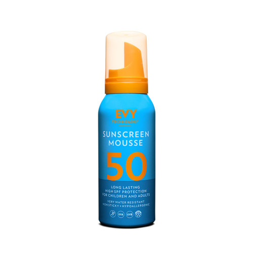 Evy Technology Proderm Sunscreen Mousse SPF50 (100ml)