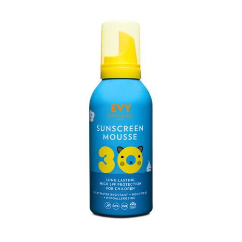 Evy Technology Proderm Sunscreen Mousse SPF30 KIDS (150ml)