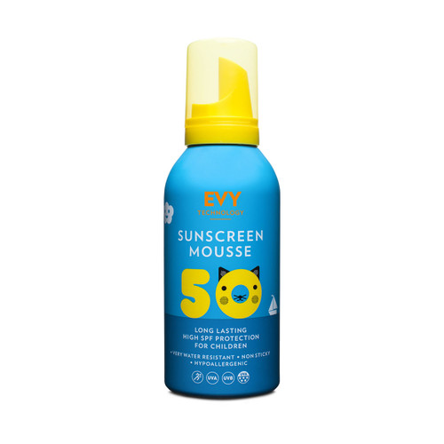 Evy Technology Proderm Sunscreen Mousse SPF50 KIDS (150ml)